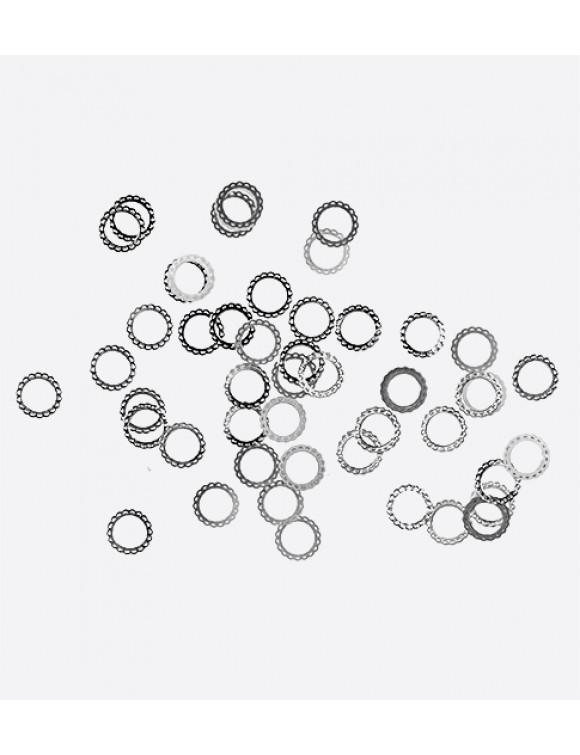 Кружевной круг серебро 0,2гр 07320065 Artex
