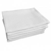 Вафельное полотенце Luxyart, размер 45х75 см, белый (LS-031)
