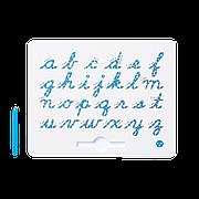 Магнитная доска для изучения английских маленьких прописных букв от А до Z, 3+ (цвет голубой)