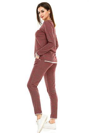 Спортивный костюм 474  красный, фото 2