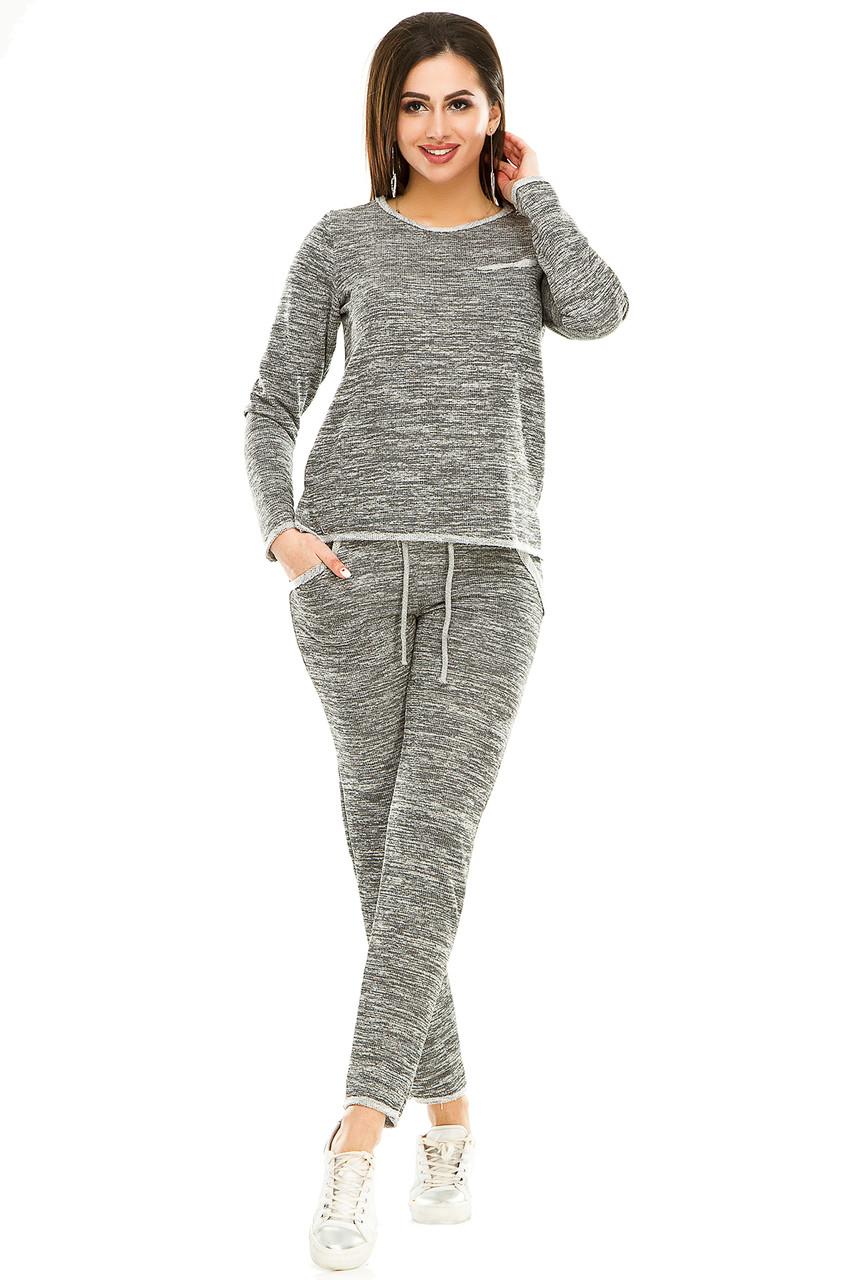 Спортивный костюм 474 серый
