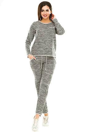 Спортивный костюм 474 серый, фото 2