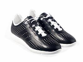 Кросівки Etor 6877-784 чорно+бiлий
