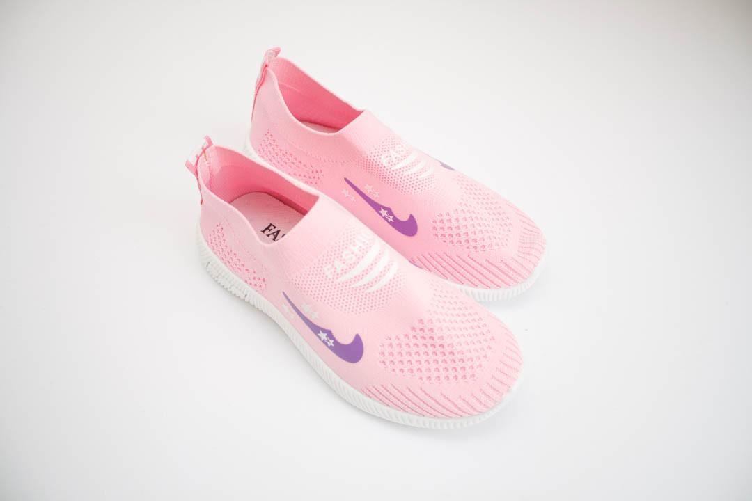 Детские кроссовки мокасины (Код: 319 розовый )