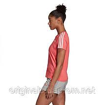 Футболка Adidas для занятий спортом женская W E 3S SLIM TEE DU0634, фото 2