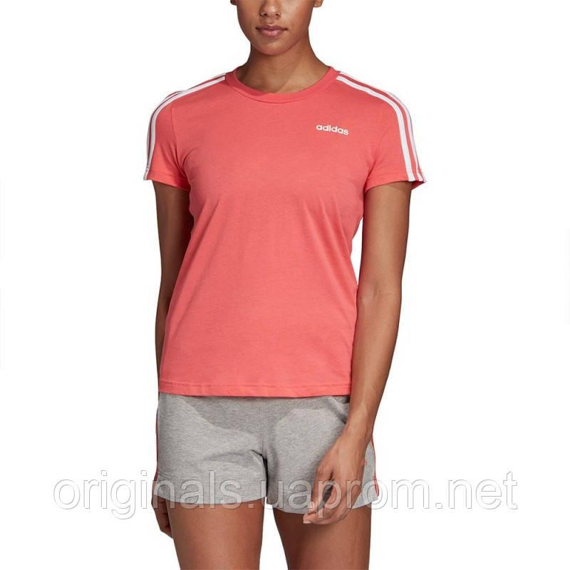 Футболка Adidas для занятий спортом женская W E 3S SLIM TEE DU0634
