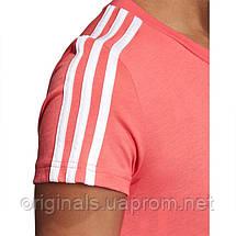 Футболка Adidas для занятий спортом женская W E 3S SLIM TEE DU0634, фото 3