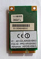 357 Wi-Fi Atheros AR5BXB63 AR5007EG 802.11 b/g Mini PCI-Express 54 Mbps модуль для ноутбука
