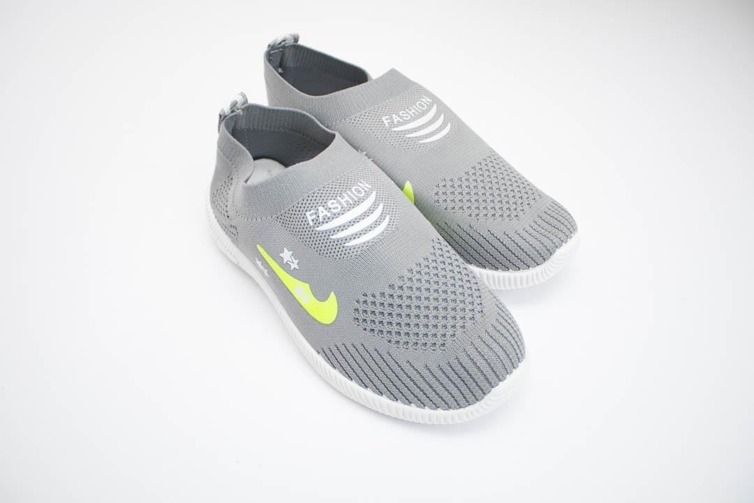 Детские кроссовки мокасины (Код: 319 серый )