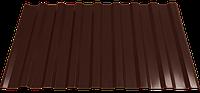 Профнастил кровельный НС-20 0,4 RAL 8017 шоколадно-коричневый h-2 м.пог, фото 1