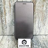 Чехол книжка для Samsung A6 2018 (A600) Серый