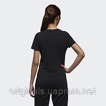 Черная футболка Adidas женская W CE TEE DW7941, фото 3