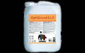 OptiGrund E.L.F. грунтовочное средство, глубокопроникающее, с водоотталкивающими свойствами. 10 л