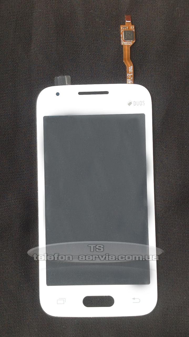 Сенсорный экран Samsung G313HN Galaxy Ace 4, G313HU Galaxy Ace 4 Duos, белый