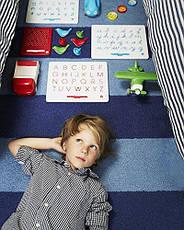 Магнитная доска для изучения цифр от 0 до 9, 3+ (цвет зеленый) Kid O, фото 3