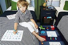 Магнитная доска для изучения цифр от 0 до 9, 3+ (цвет зеленый) Kid O, фото 2