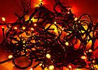 Светодиодная гирлянда нить без линзы, 100 светодиодов, IP20, фото 4