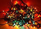 Светодиодная гирлянда нить без линзы, 100 светодиодов, IP20, фото 5