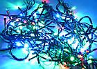 Светодиодная гирлянда нить без линзы, 100 светодиодов, IP20, фото 7