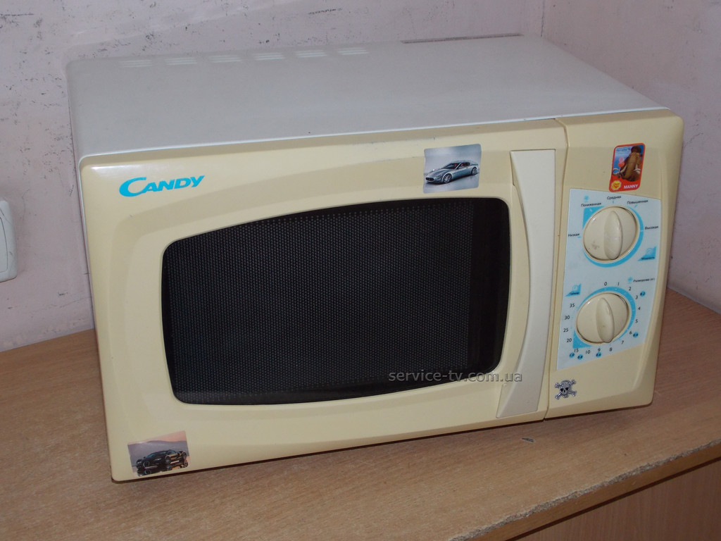 Ремонт микроволновки Candy CMW7017M.Не работал таймер.