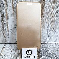 Чехол книжка для Samsung J4 2018 (J400)  Золотой