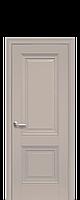 Дверное полотно Имидж Капучино глухое с молдингом