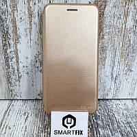 Чехол книжка для Samsung J6 2018 (J600)  Золотой