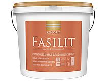 Фарба  KOLORIT Fasilit силіконова фасадна фарба 4,5 л