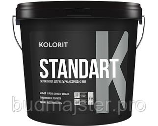 Штукатурка KOLORIT STANDART K  «короїд», 25 кг