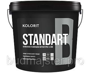 Штукатурка KOLORIT STANDART B структурна штукатурка «баранець», 25 кг