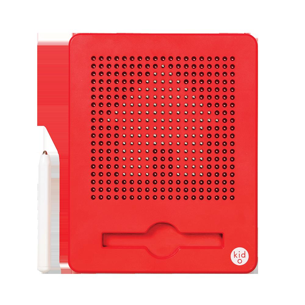 Магнитная доска для рисования, 3+ (цвет красный) Kid O