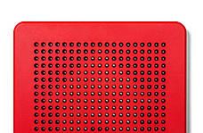 Магнитная доска для рисования, 3+ (цвет красный) Kid O, фото 2