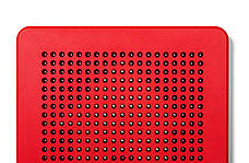 Магнитная доска Kid O для рисования красная (10348), фото 3