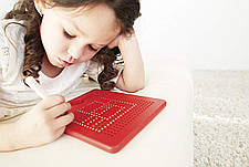 Магнитная доска Kid O для рисования красная (10348), фото 2
