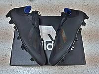Бутсы adidas X 18.3 FG/AG Black/Blue
