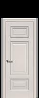 Дверное полотно Шарм Магнолия глухое с молдингом