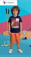 Футболка+капри для мальчика 414-4 U.S.Polo Assn
