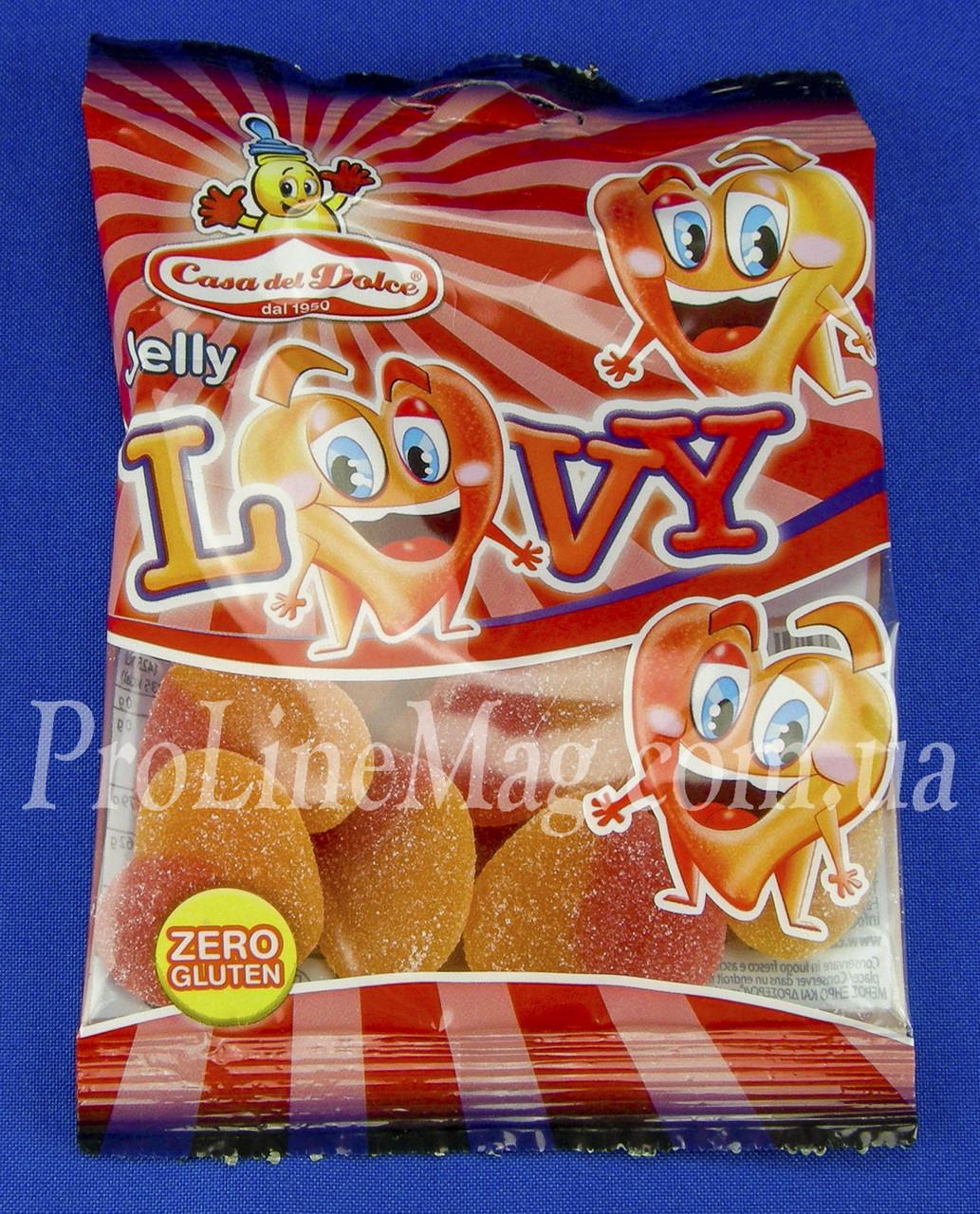 Жевательный мармелад Сердце Casa del Dolce® Jelly Lovy