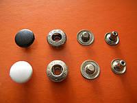 Кнопка 15 мм с пластиковым верхом под покраску