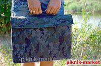 Чехол к мангалу 8 шампуров армейская саржа
