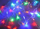 Светодиодная гирлянда капля, 100 светодиодов, IP20 (белый провод), фото 7