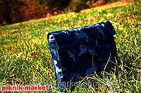 Мангал-чемодан с чехлом металл 2мм на 6 шампуров