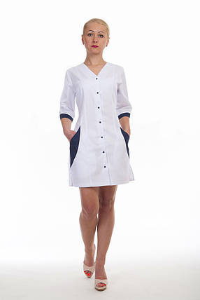 Жіночий халат медичний, фото 2