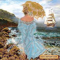 """Схема для вышивки бисером на натуральном холсте  """"Магия моря"""" AC-155"""