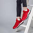 Женские кроссовки Nike Air Max 97 красные и желтые , фото 6