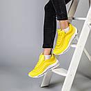 Женские кроссовки Nike Air Max 97 красные и желтые , фото 10