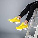 Женские кроссовки Nike Air Max 97 красные и желтые , фото 7