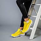 Женские кроссовки Nike Air Max 97 красные и желтые , фото 9