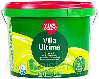 Фарба Vivacolor Villa Ultima Водно-дисперсійна деревозахисна фарба, 9 л