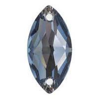 Кристаллы Сваровски пришивные 3223 Denim Blue (266) 12x6mm